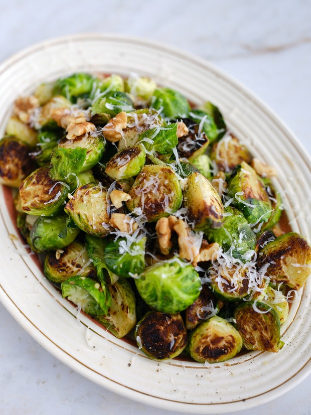 Golden Crusted Brussels Sprouts: Five Ways