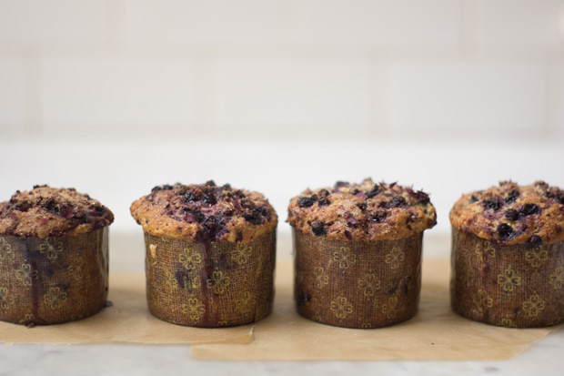 Sugar-topped Buttermilk Berry Muffin Recipe