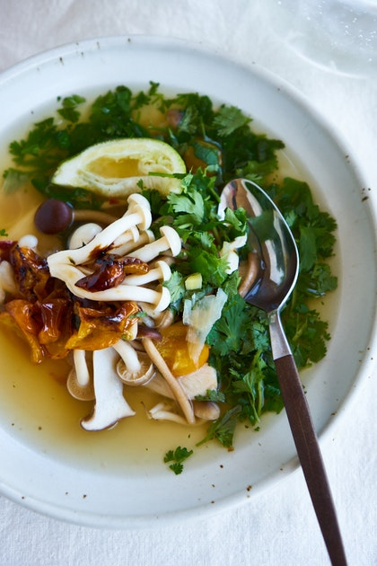 California Tom Yum Soup