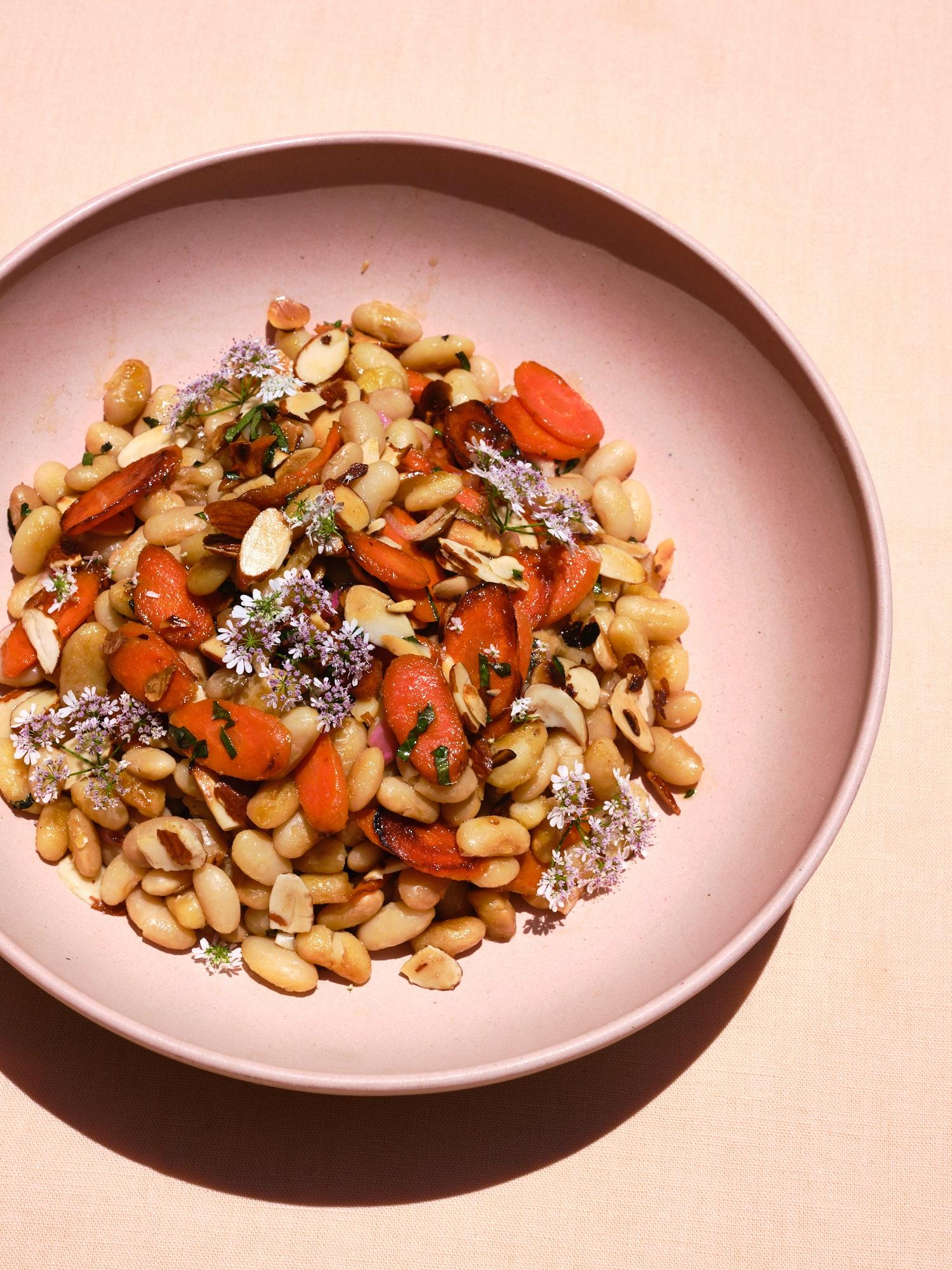 Carrot, Dill White Bean Salad Recipe