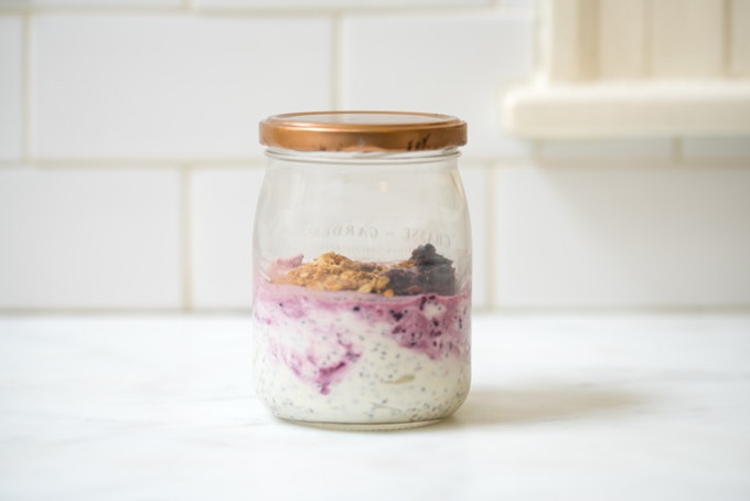 Grab & Go Chia Yogurt Parfait