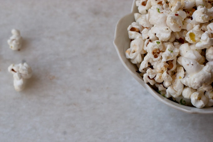 Chile Lime Tequila Popcorn Recipe