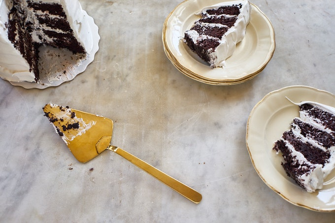 Violet Bakery Chocolate Devil's Food Cake