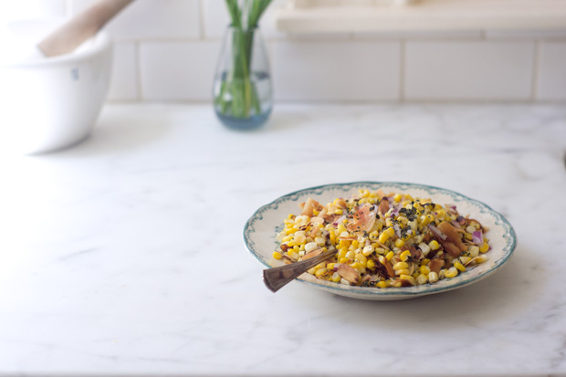 A Really Great Coconut Corn Salad Recipe