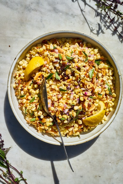 A Really Great Coconut Corn Salad