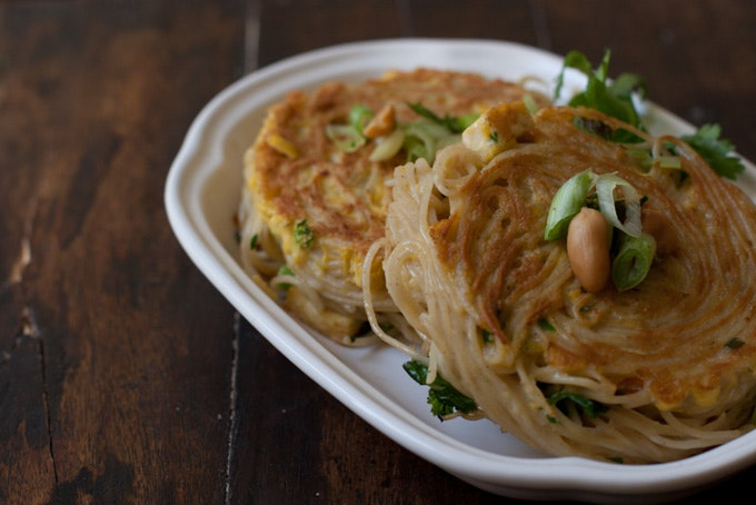 Curried Noodle Patties