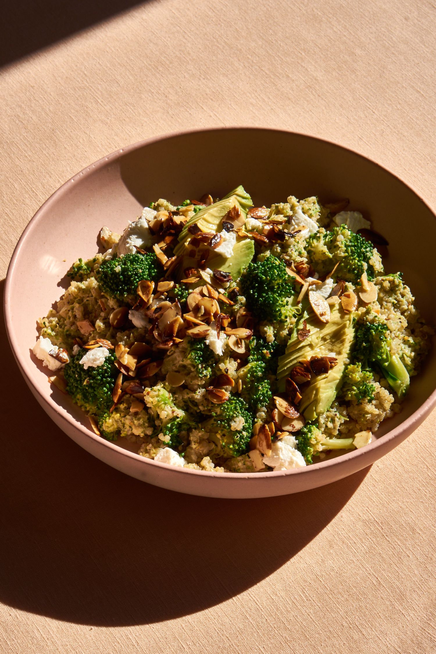 Double Broccoli Quinoa Recipe