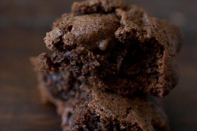 Triple Chocolate Espresso Bean Cookies Recipe