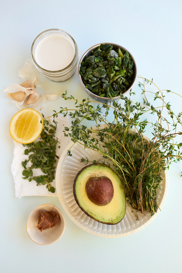 Five Minute Avocado Dressing