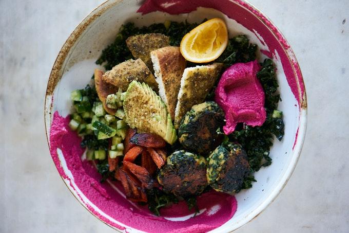 Green Falafel Bowl Recipe