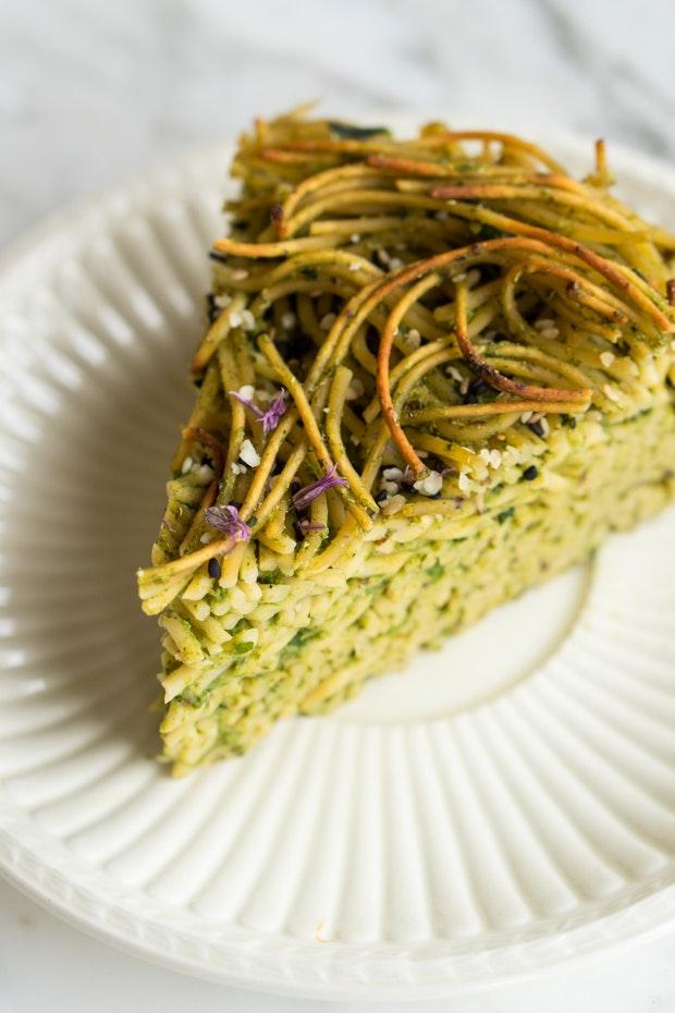 Green Spaghetti Pie Recipe 101 Cookbooks