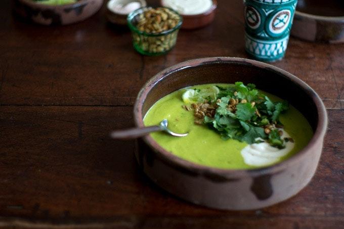 Sopa Verde de Elote Recipe