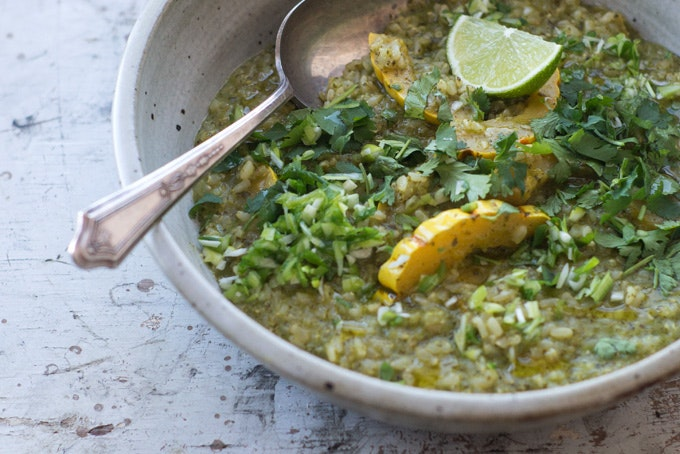Green Curry Porridge Recipe