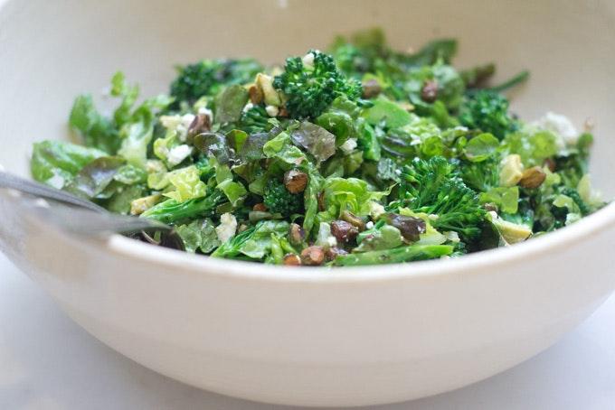 The Greenest Salad Recipe