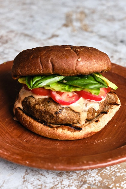 Grillable Tofu Burgers