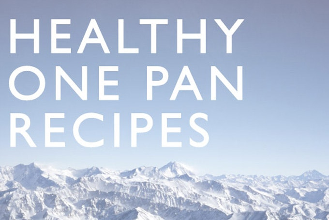 Healthy One Pan Recipes
