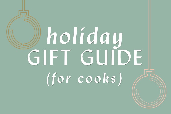 Holiday Gift Guide for Cooks (30+ ideas)