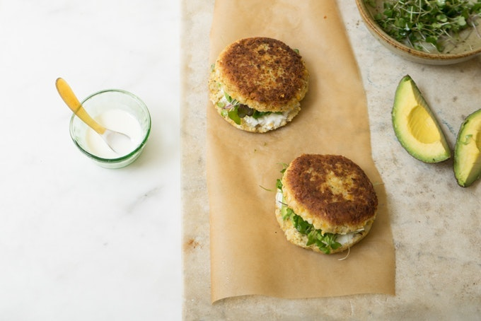 Eight Great Homemade Veggie Burgers Recipe