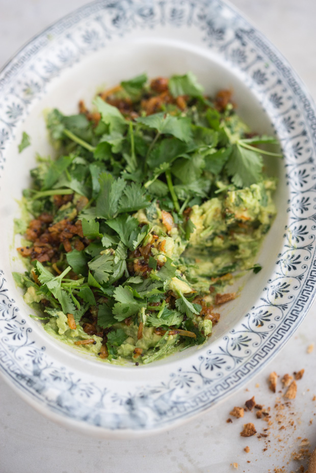 This is How You Step up Your Guacamole Game - Indian-spiced Guacamole
