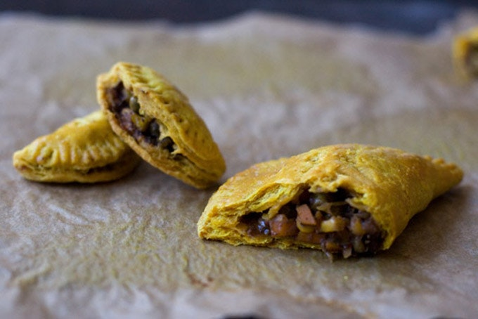 Jamaican Veggie Patties