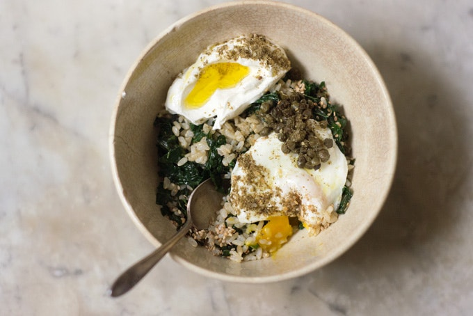 Kale Rice Bowl