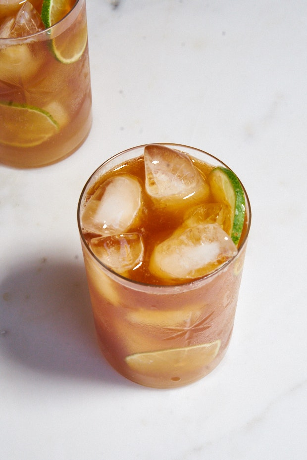 Kombucha Dark and Stormy Cocktail Recipe