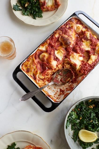 Last Minute Red Lasagna