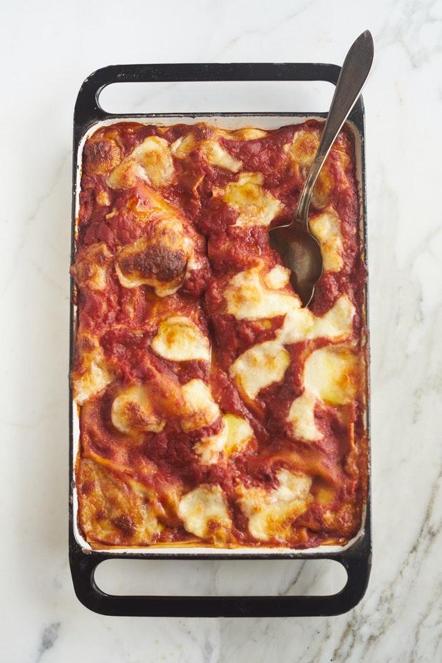Last Minute Red Lasagna Recipe
