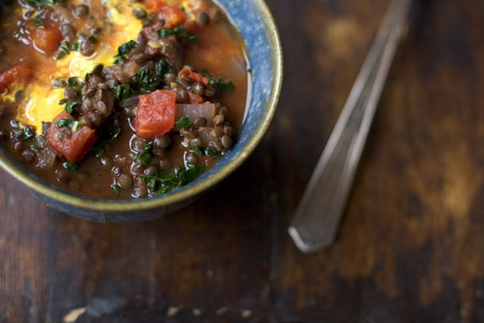 Lively Up Yourself Lentil Soup