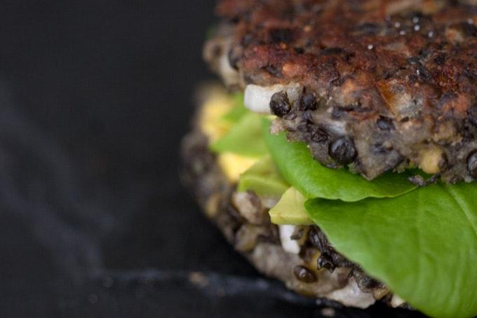 Vegetarian Lentil Burgers