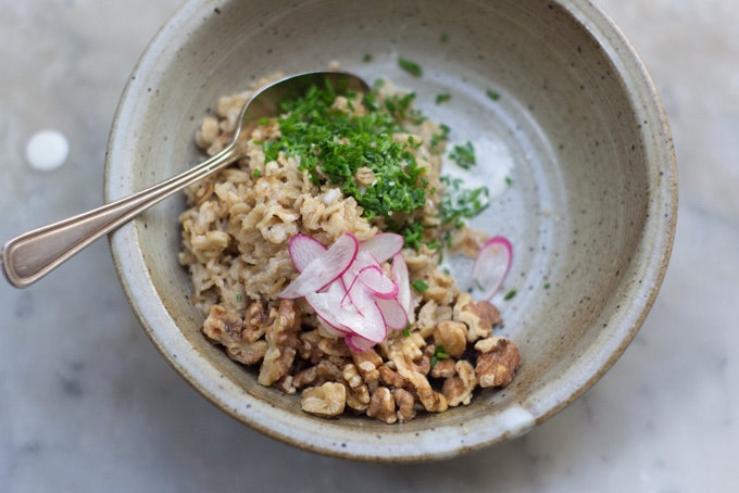 Miso Oat Porridge Recipe