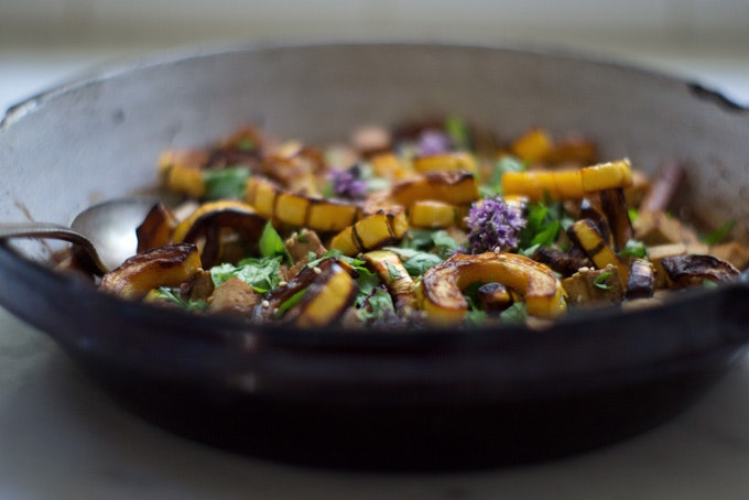 Miso Sesame Winter Squash