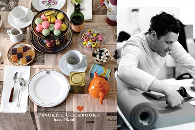 Favorite Cookbooks: Isaac Mizrahi