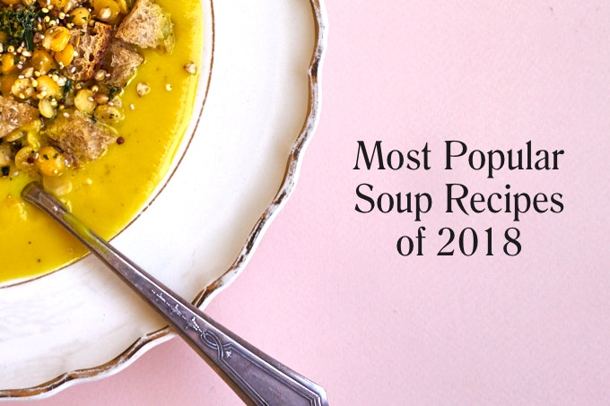 Most Popular Soup Recipes of 2018