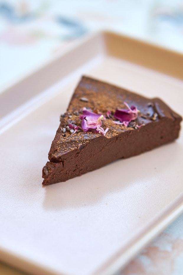 El último pastel de chocolate sin hornear