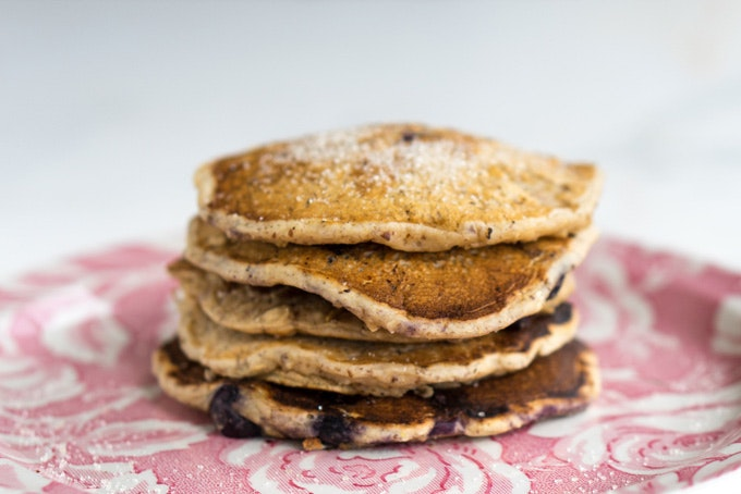 New-fashioned Oatmeal Pancakes