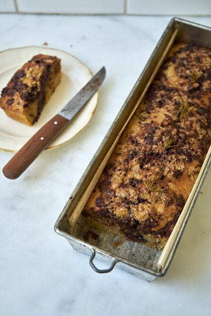 Rosemary Olive Oil Cake