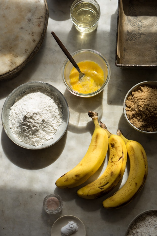 One Bowl Banana Bread Recipe