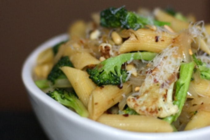 Best School Lunch: Sicilian Broccoli and Cauliflower Pasta