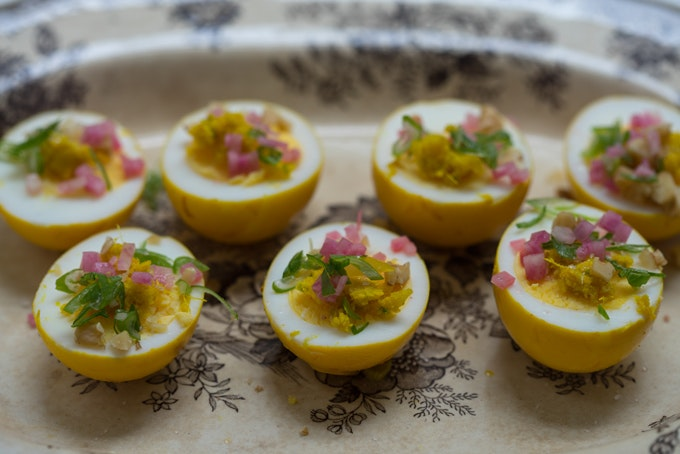 Pickled Turmeric Eggs Recipe