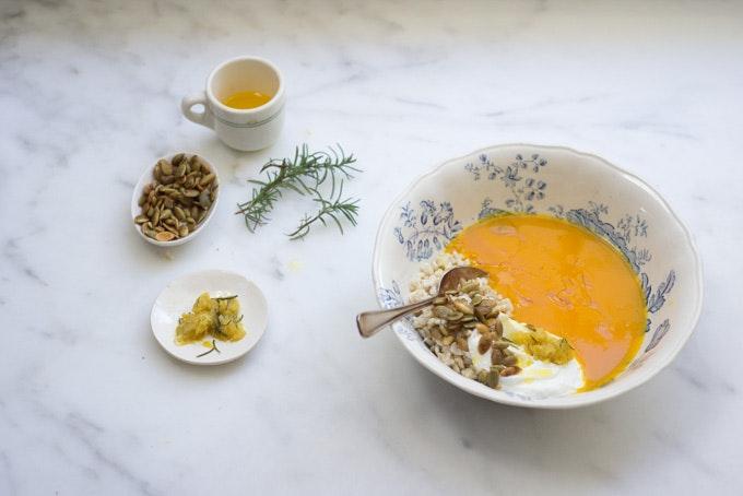 Pumpkin and Rice Soup
