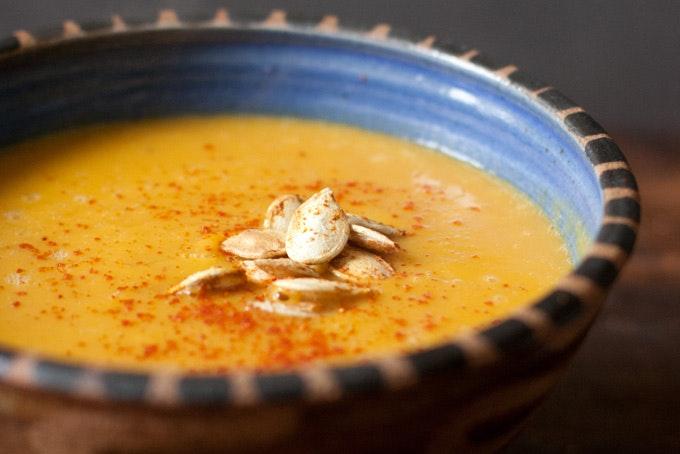 Thai Spiced Pumpkin Soup Recipe 101 Cookbooks
