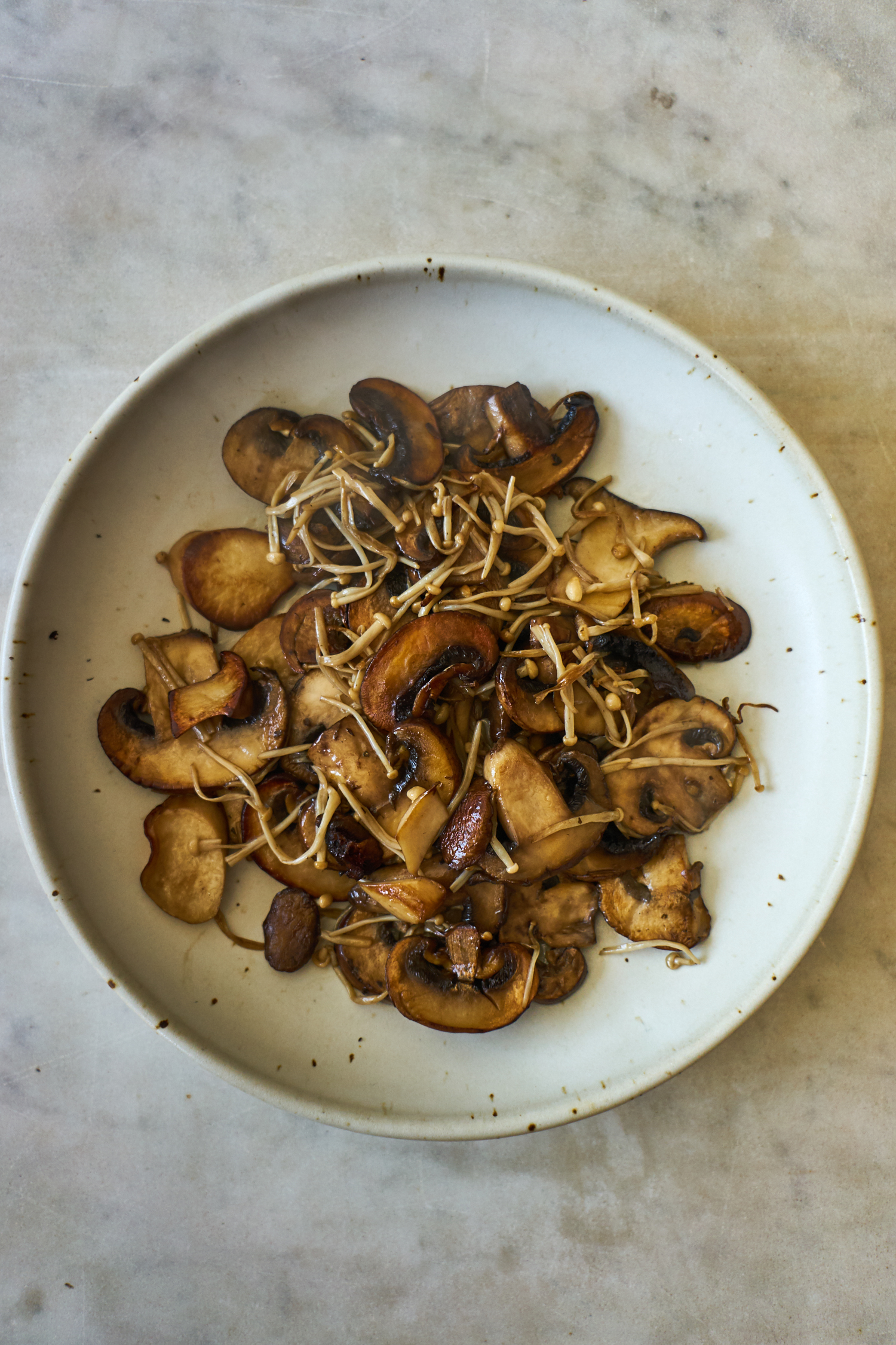 Quick Mushroom and Lime Salad