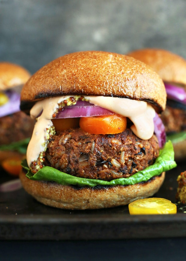 Eight Great Homemade Veggie Burgers