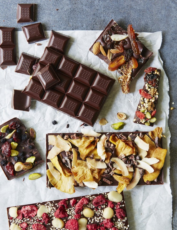 Homemade Chocolate Bars and All the Things You Want in Them