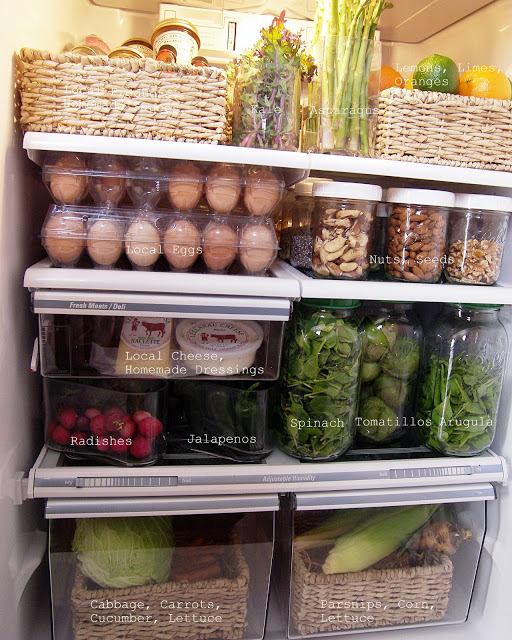 Ten Refrigerators that Inspire Healthy Eating