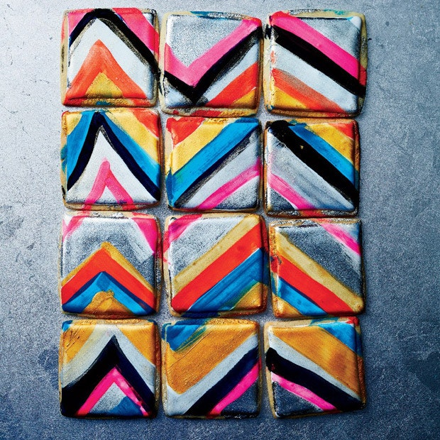 Inspiring Hand-painted Watercolor Cookies