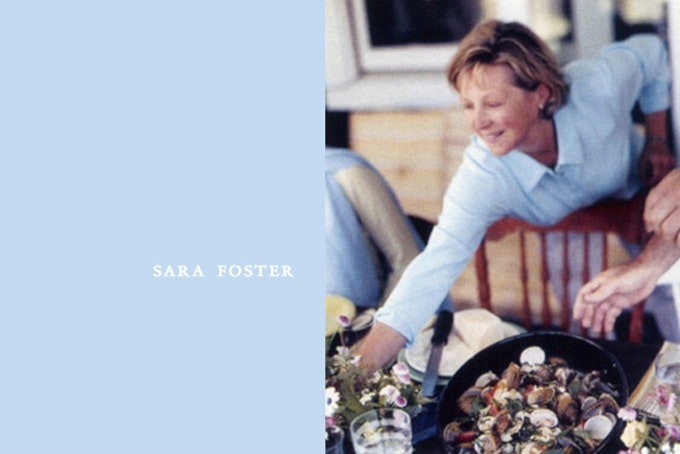 Favorite Cookbooks: Sara Foster