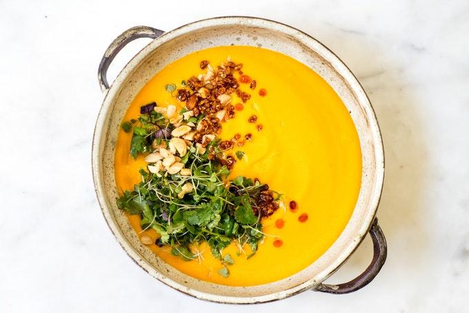 A Simple Carrot Soup Recipe