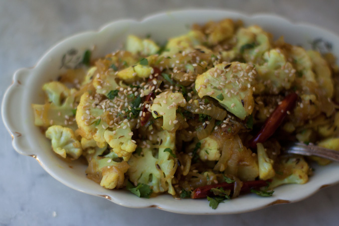 how to cook broccoli and cauliflower together